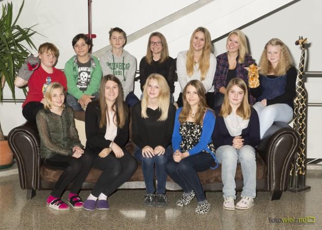 Die Peermediatoren des Schuljahres 2014/2015