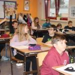 Musikunterricht in der 2. Klasse