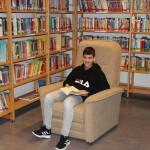 Gemütliches Plätzchen in der Bibliothek