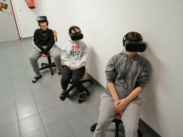 VR Brillen  3. u. 4. Klassen