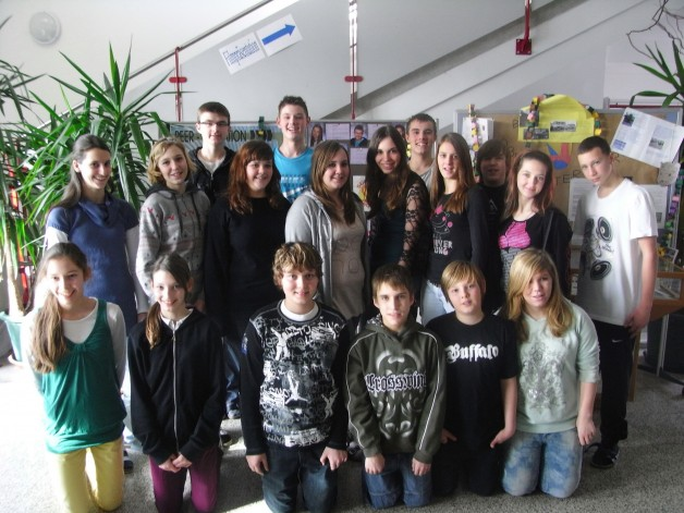 Die Peer-Mediatoren des Schuljahres 2010/11