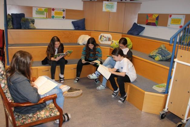 Bibliothek - intensives Lesen