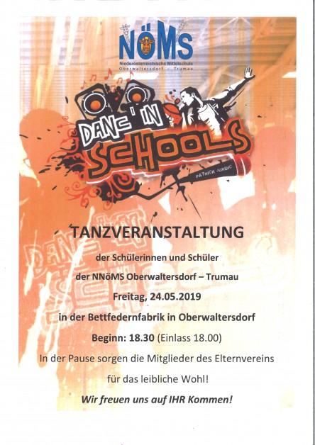 Plakat Danc ìn Schools